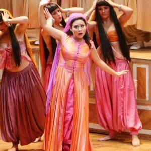 Soledad Cardoso as Elvira. L'italiana in Algeri. Rossini